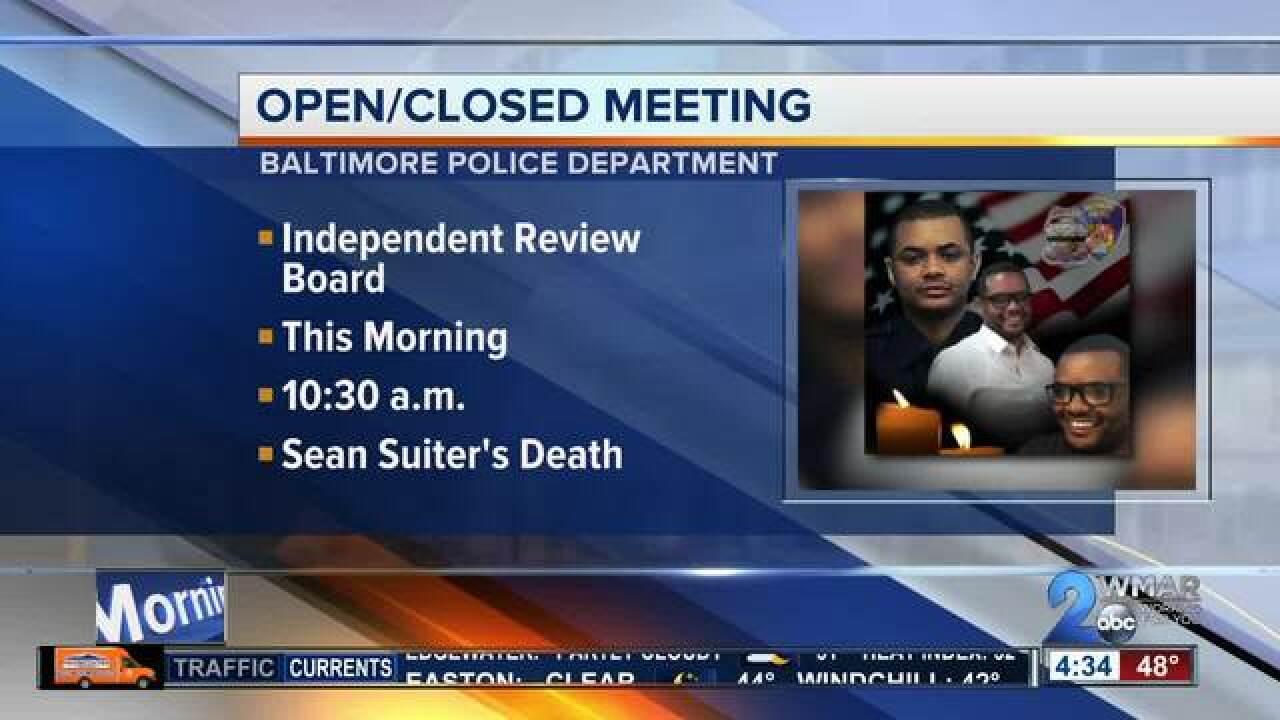 Board to Investigate Death of Det. Suiter