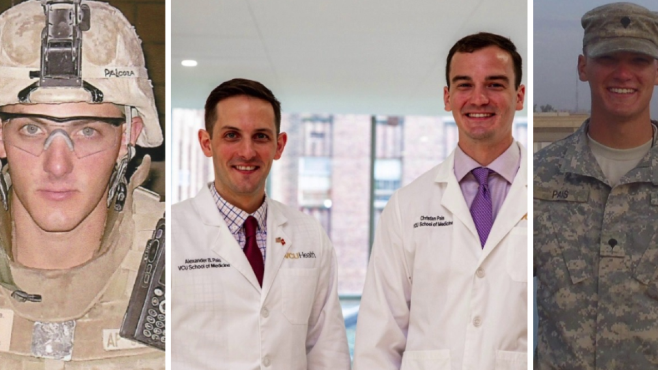 Veteran brothers studying medicine to serve other veterans