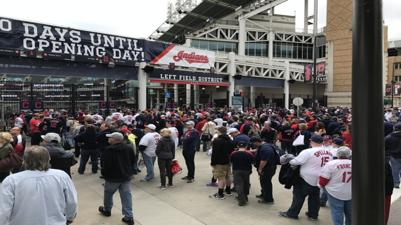 Photos: Cleveland Indians 2017 home opener