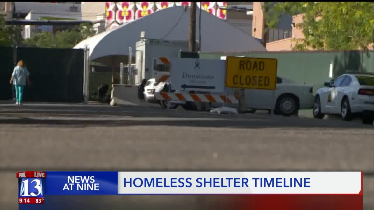 Coalition voices concerns after SLC homeless shelter closing delayed
