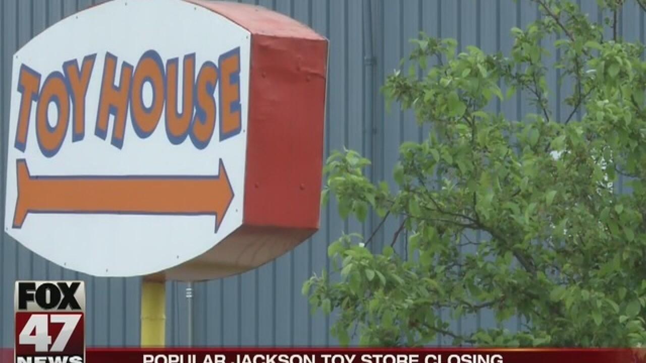 Jackson's Toy House announces it's closing