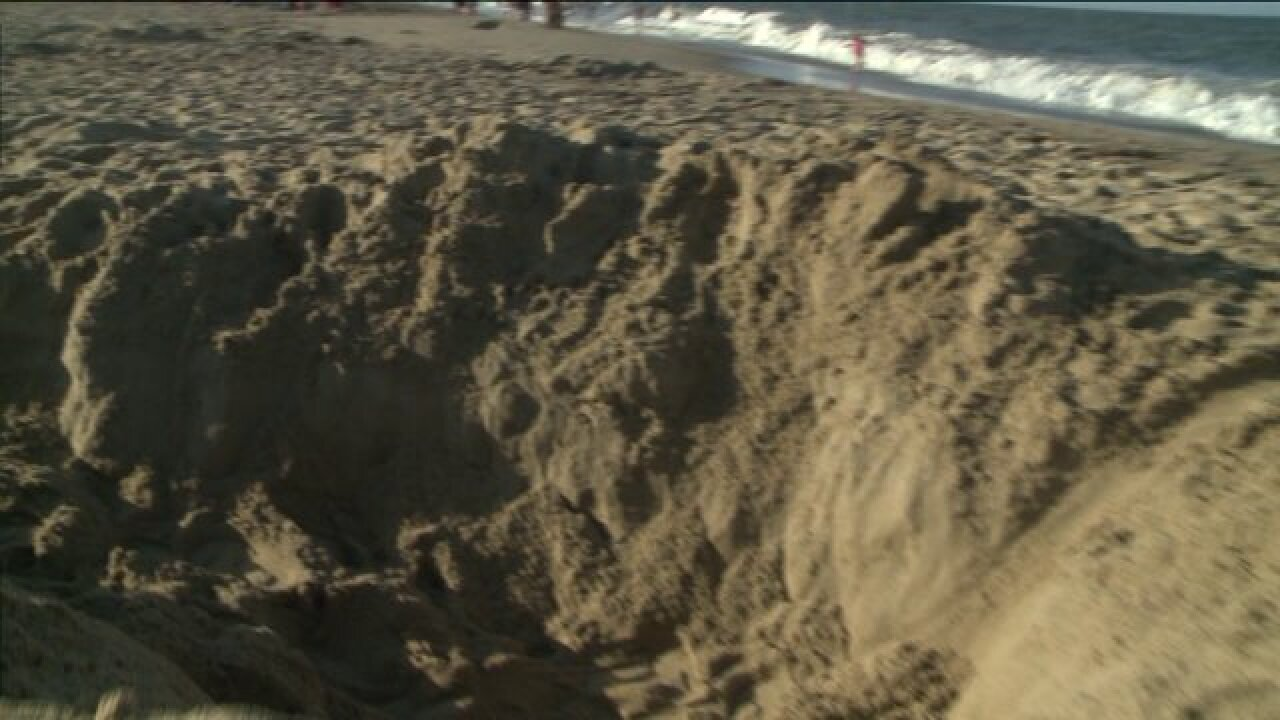 Man killed at Cape Hatteras National Seashore after hole he was diggingcollapses