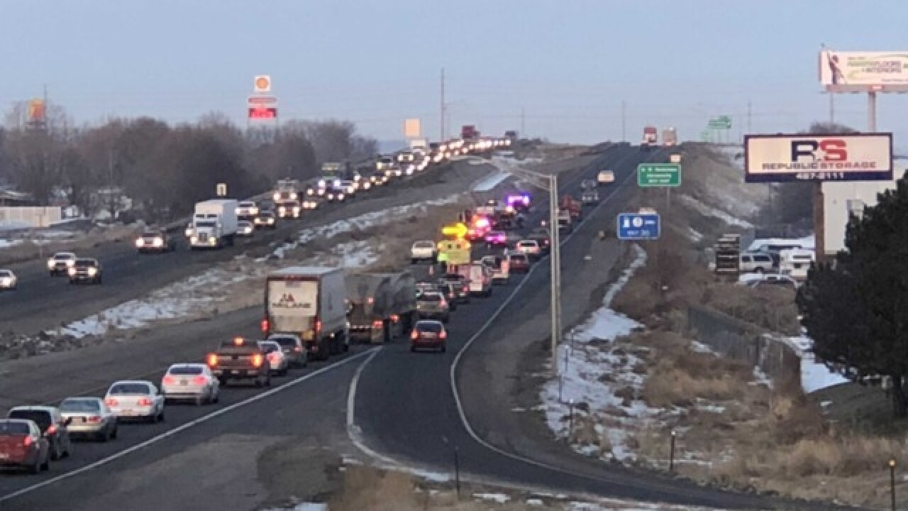 I-84 lanes shut down following 3 crashes