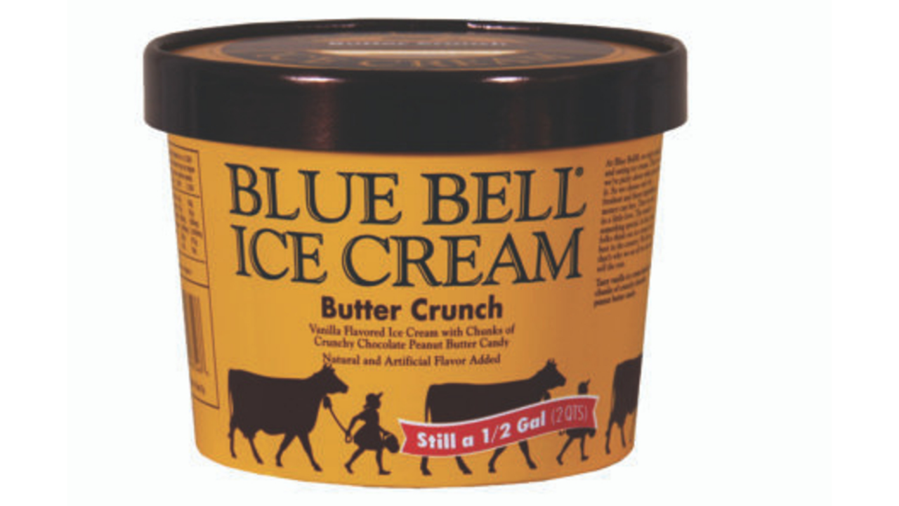 Blue Bell Butter Crun