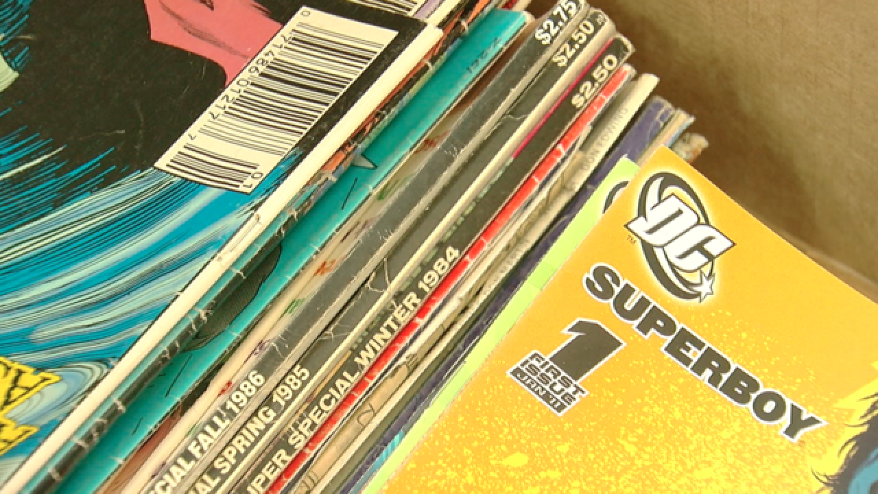 Tulsa Pop Kids comic book drive