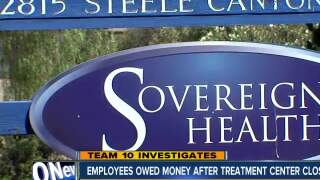 Employees say they're owed money after treatment center closes