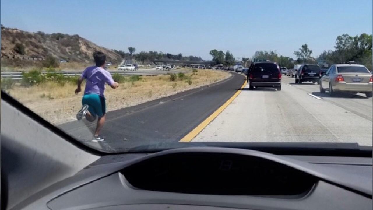 Police investigating after boy did #InMyFeelingsChallenge on California interstate