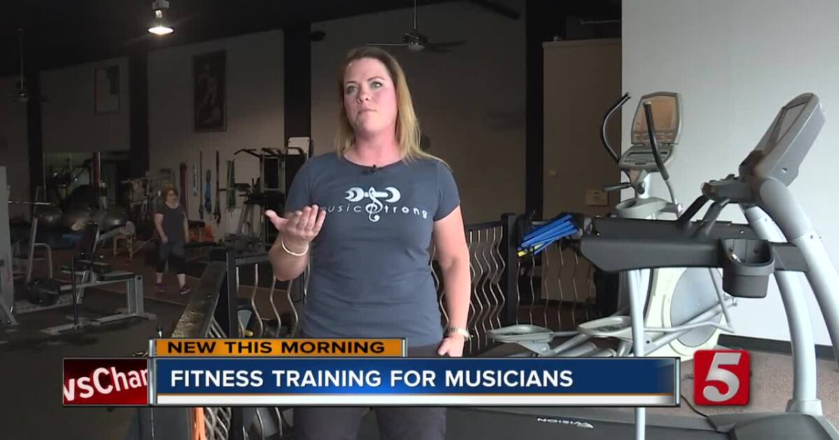 A Nashville fitness trainer is helping musicians keep their bodies in-tune
