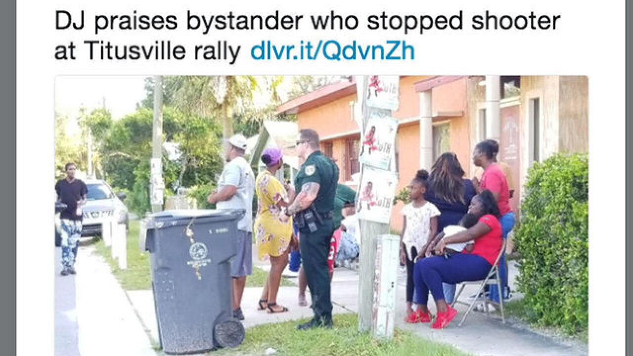 Florida bystander shoots gunman who opened fire at back-to-school festival in Brevard County