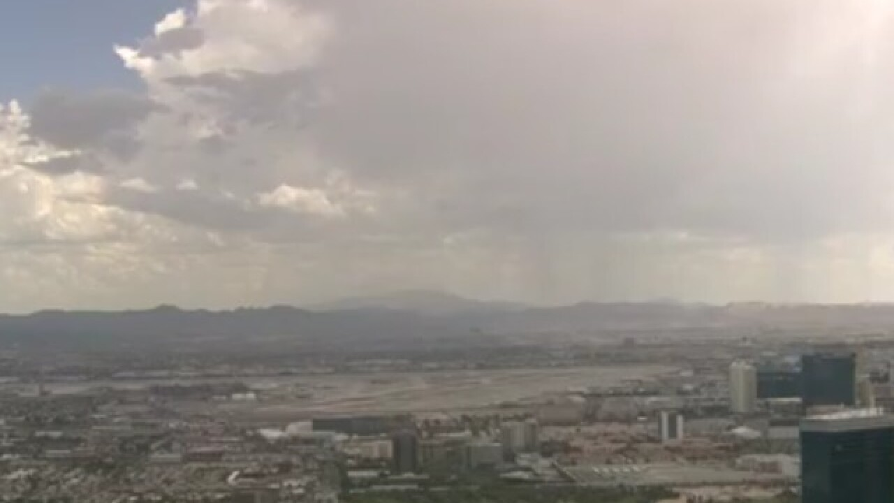 Storms headed toward Henderson, south Las Vegas