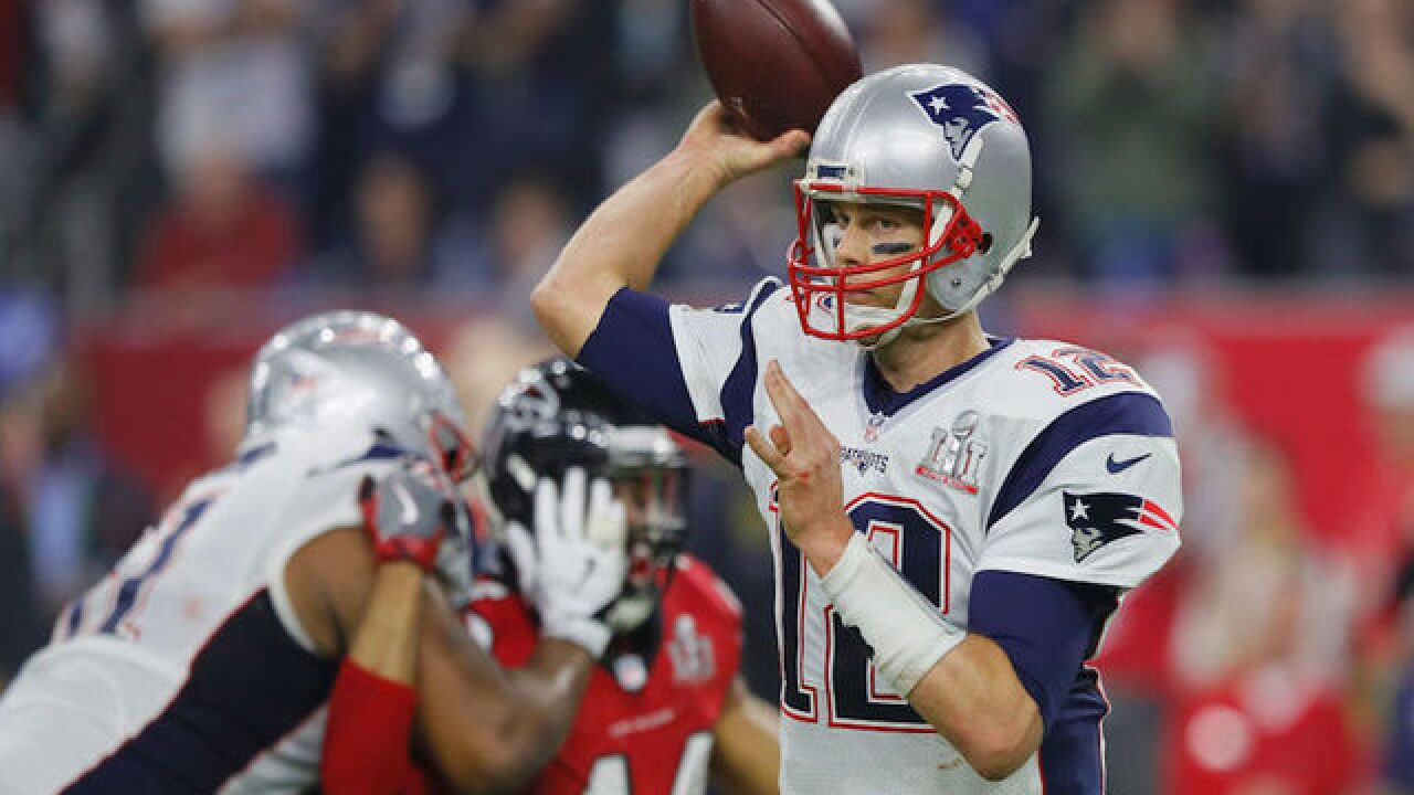 Tom Brady thinks his Super Bowl LI game jersey was stolen