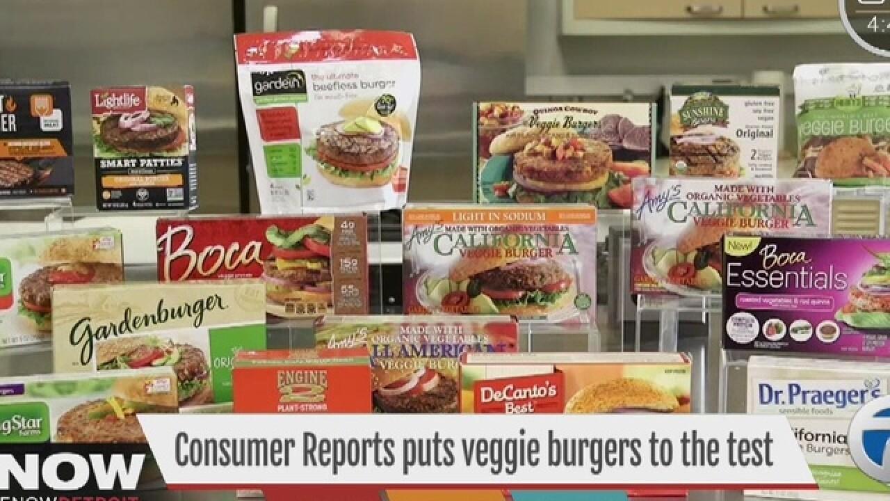 Delicious veggie burgers