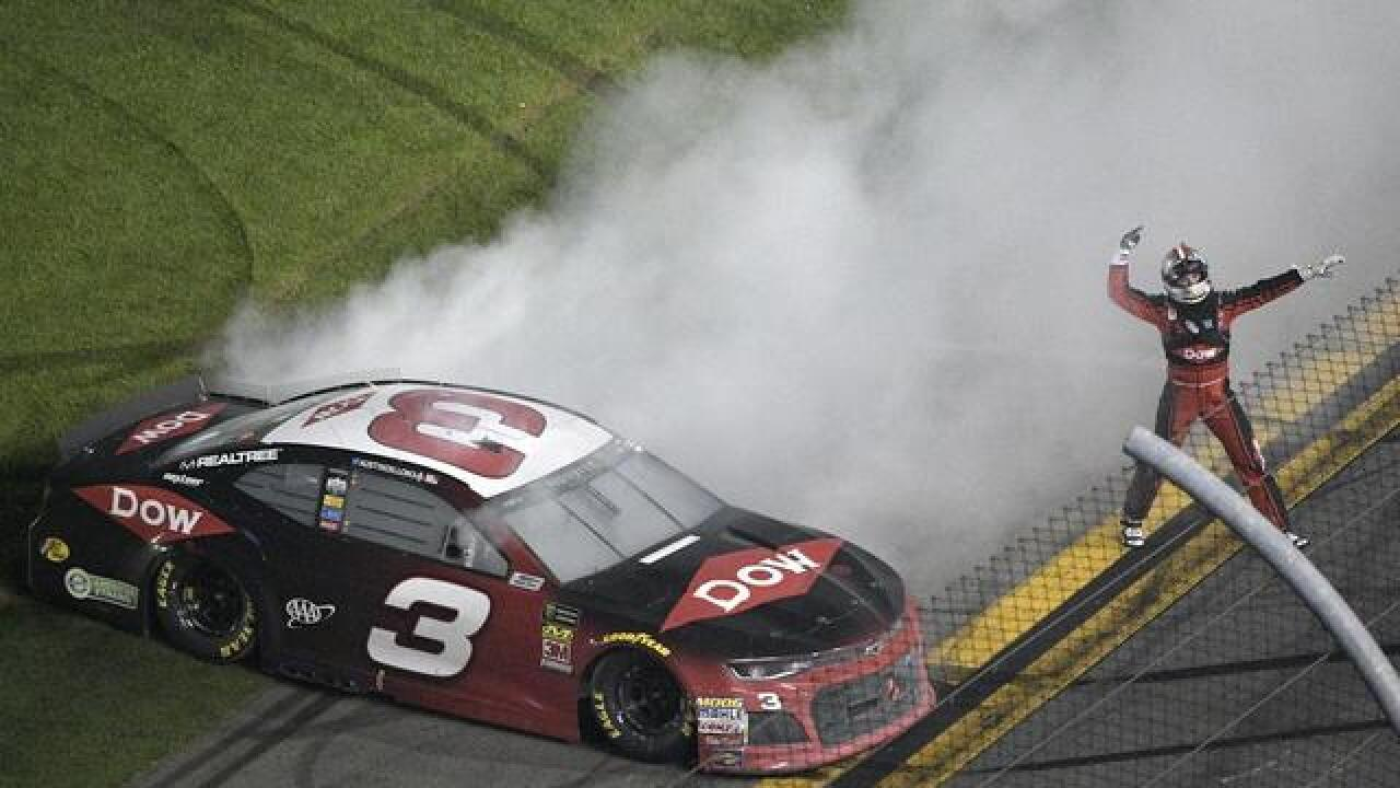 Austin Dillon takes No. 3 back to victory lane at Daytona