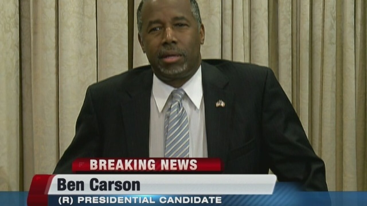 Carson campaign volunteer dies after Iowa crash