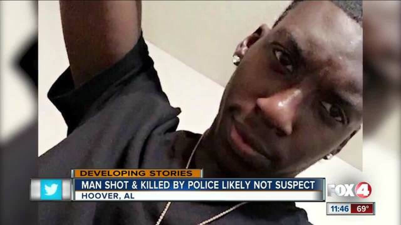 Police kill man mistaken for mall shooter