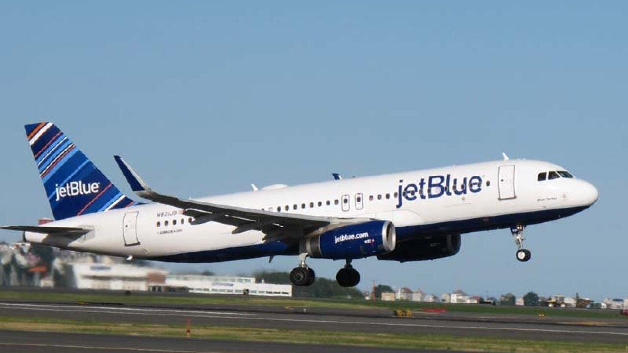 JetBlue flight headed to Richmond makes emergency landing inCharleston