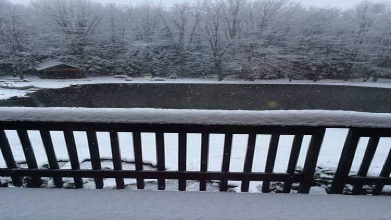PHOTOS WNY's first major lake effect snow of '14