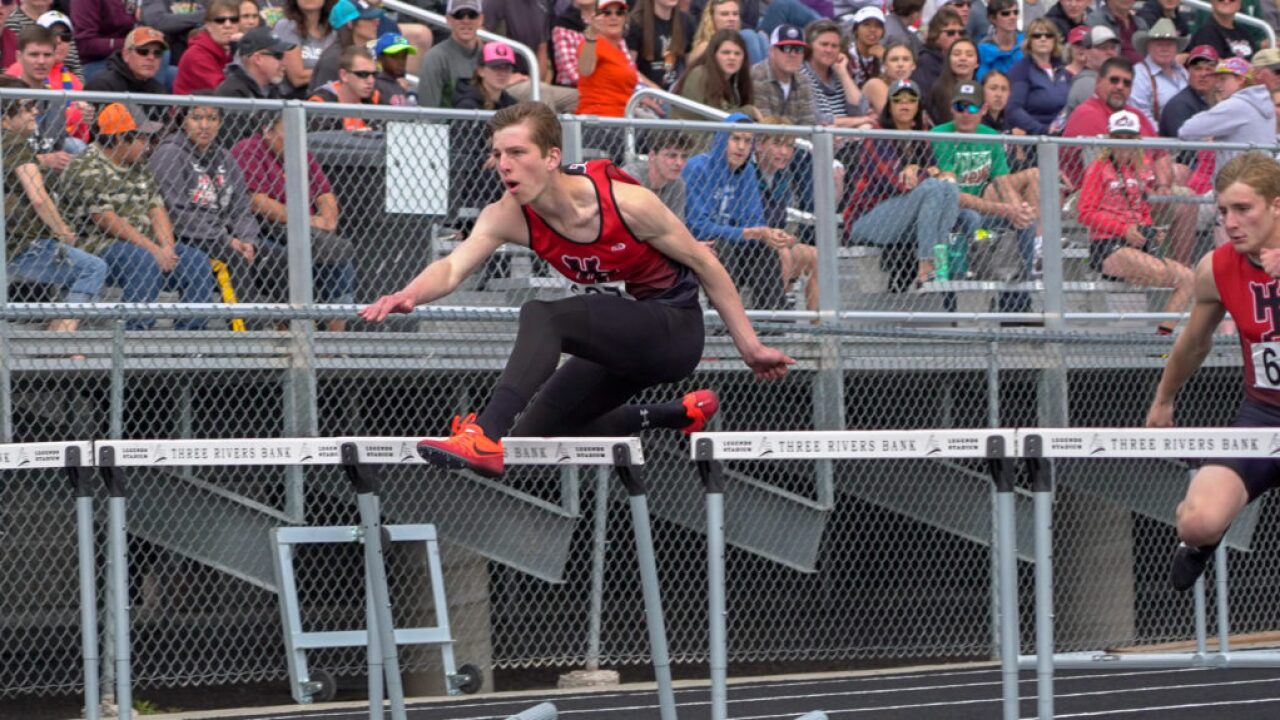 State B track and field: Huntley Project boys out front; girls race up for grabs