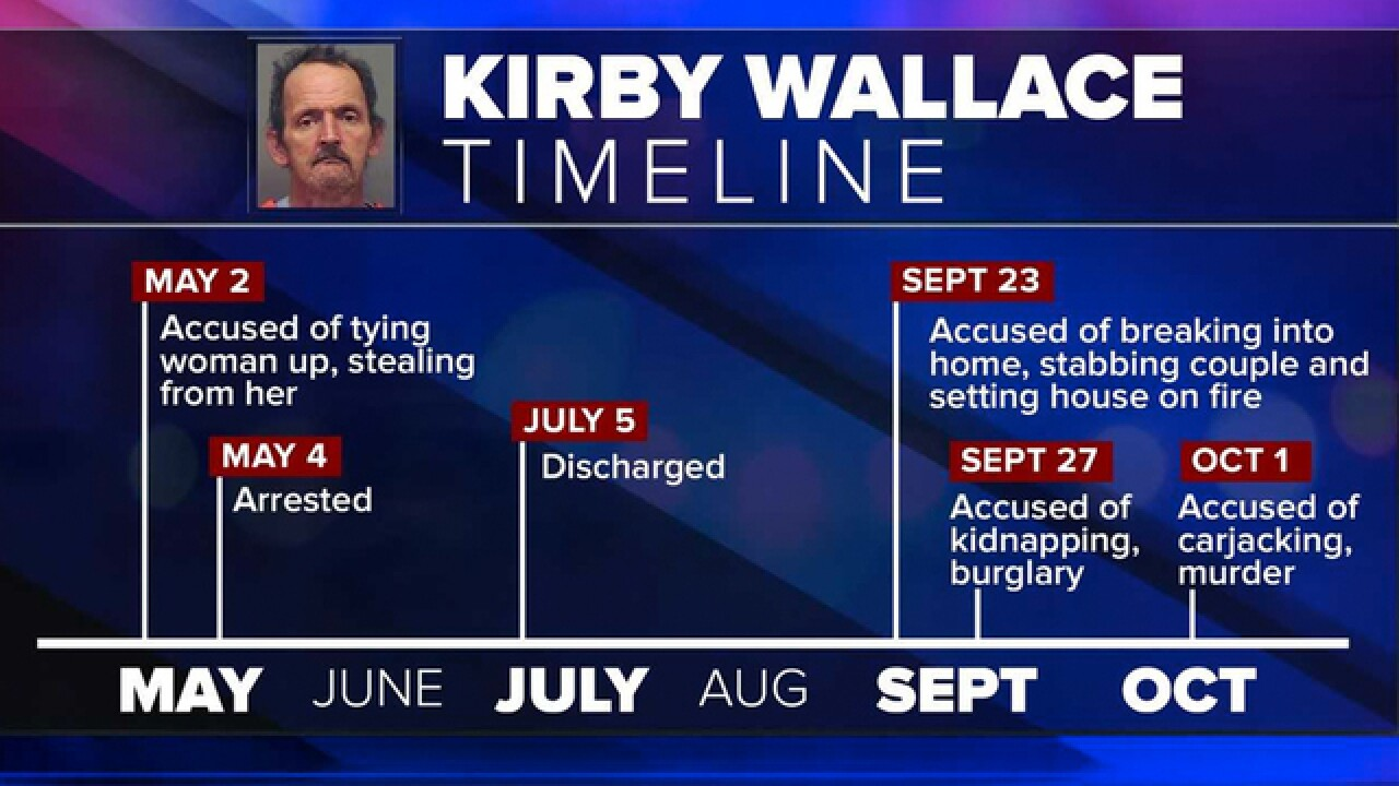 Kirby Wallace Possibly Cornered; SWAT Taking Over Ground Assault
