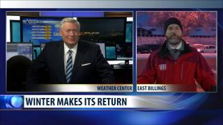 Video extra: Winter returns… and so does Rob Griggs