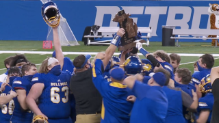Centreville celebrates first-ever state championship