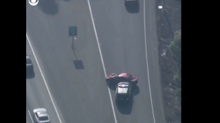 Caught on cam: High-speed chase through Los Angeles
