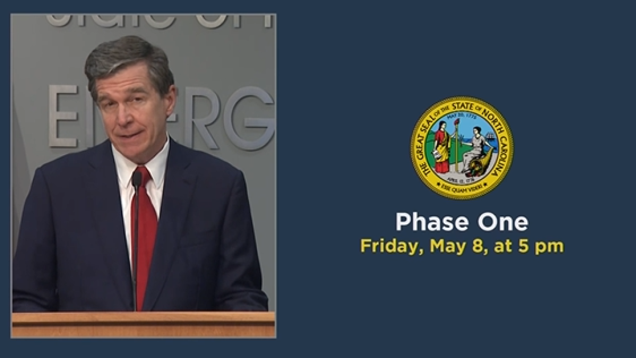 North Carolina Phase One reopening.PNG