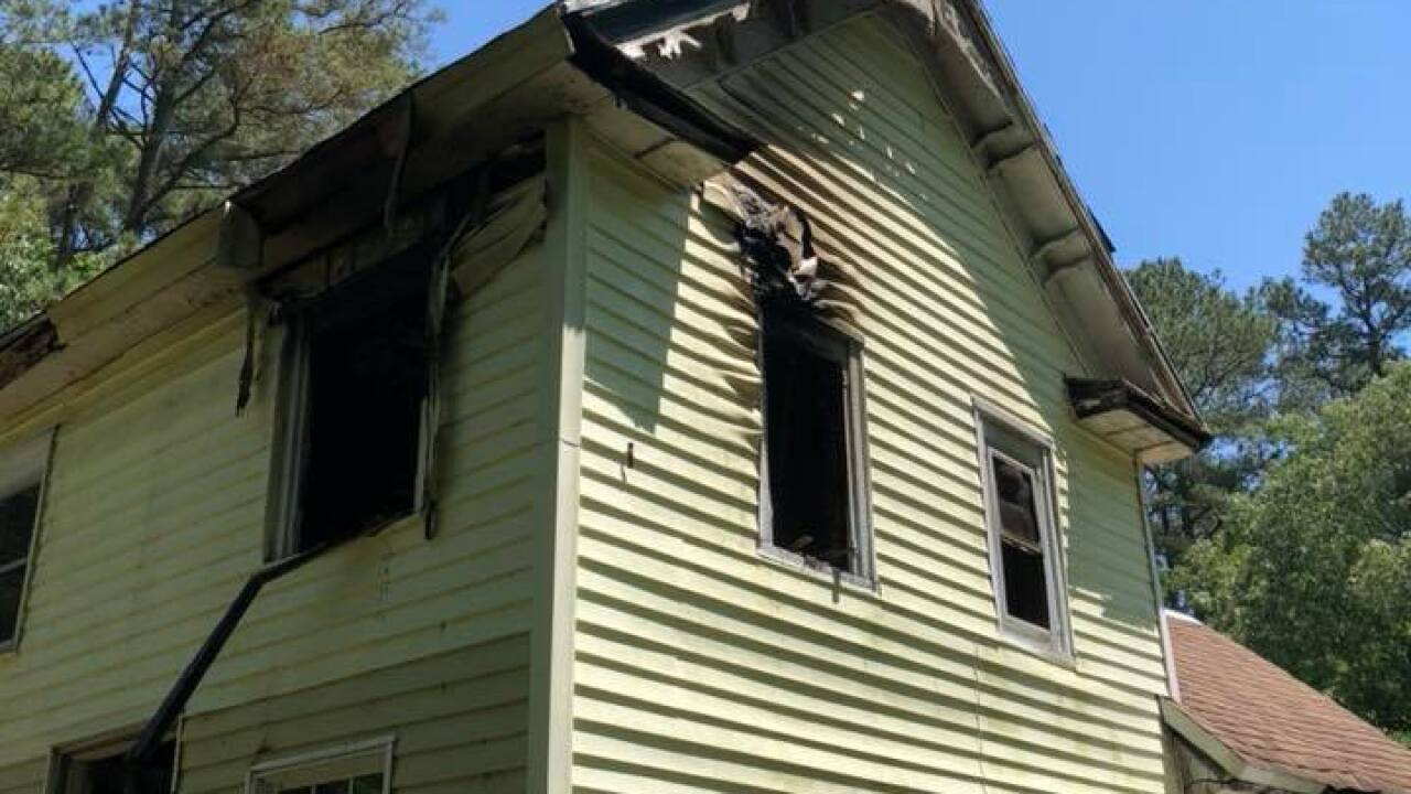 Firefighters respond to house fire in Accomack County