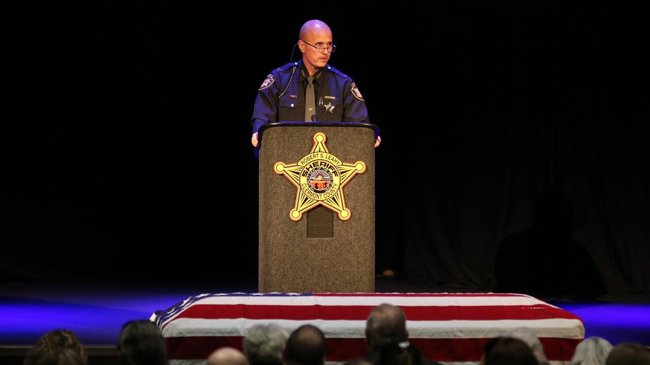 Detective Bill Brewer funeral, 2/9/2019
