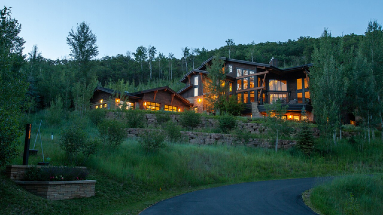 Colorado Dream Homes: Custom Steamboat Springs home is perfect for taking in the scenery