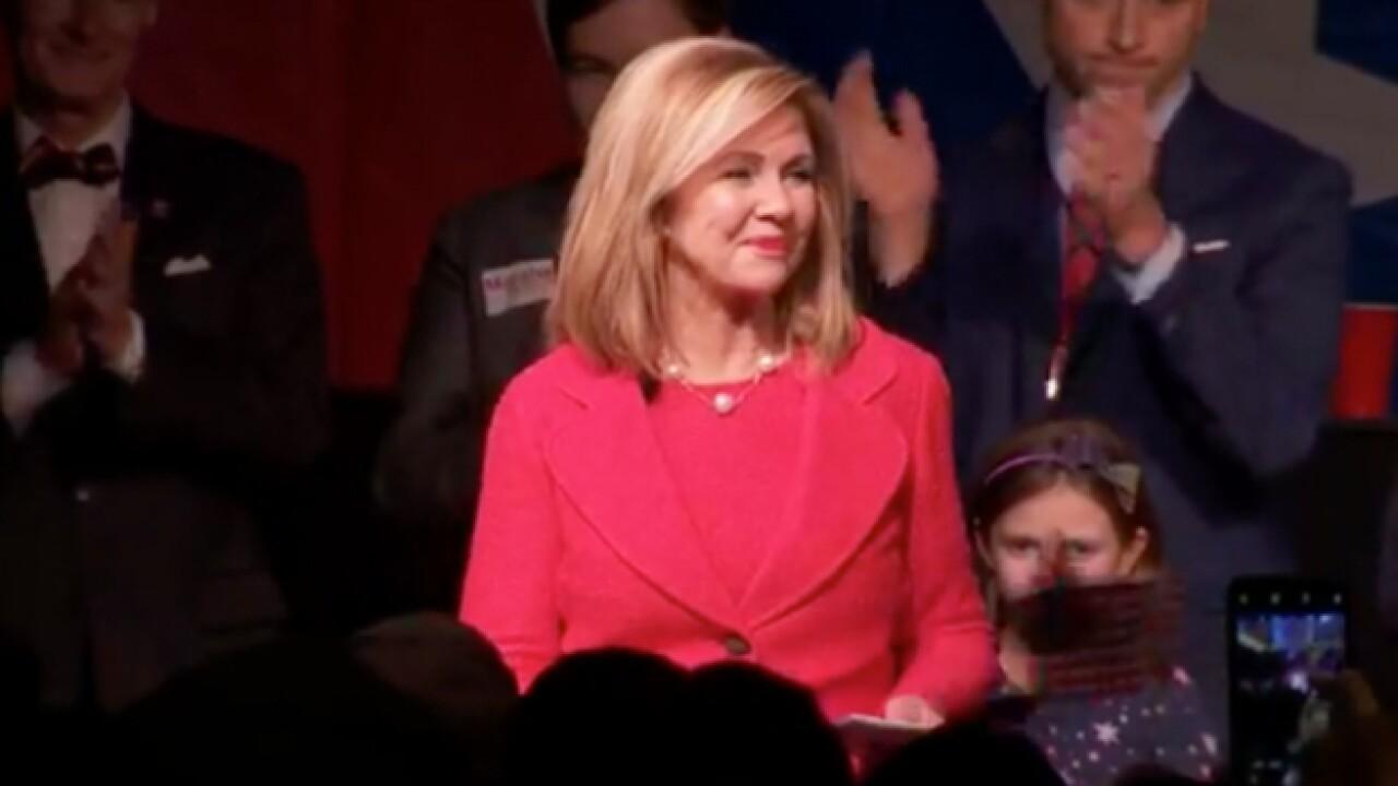 Blackburn wins Tennessee's US Senate race