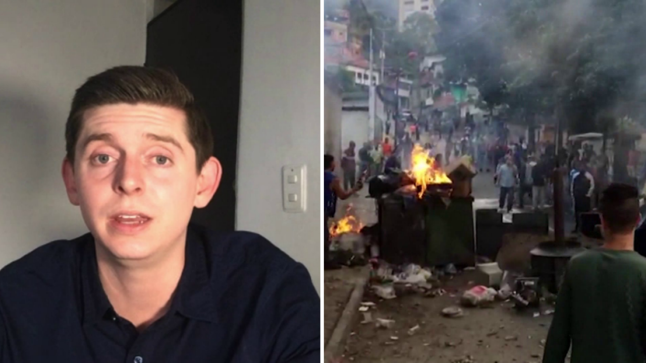 Virginia Tech alum detained in Venezuela reports on recent violence: 'This is a historicday'