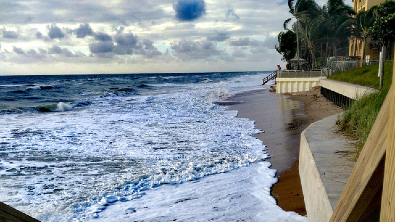 King tide hits coastal areas at its peak