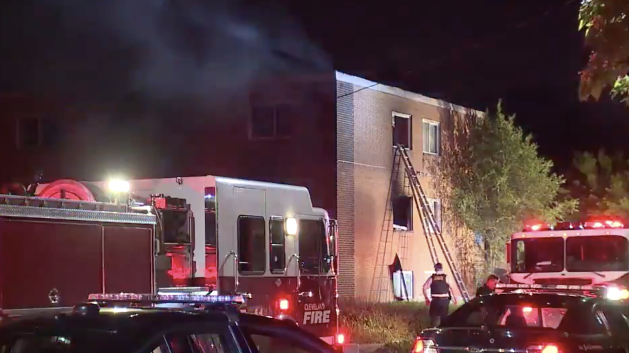 East 143rd Street apartment fire.