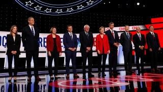 Democratic Debate field night one