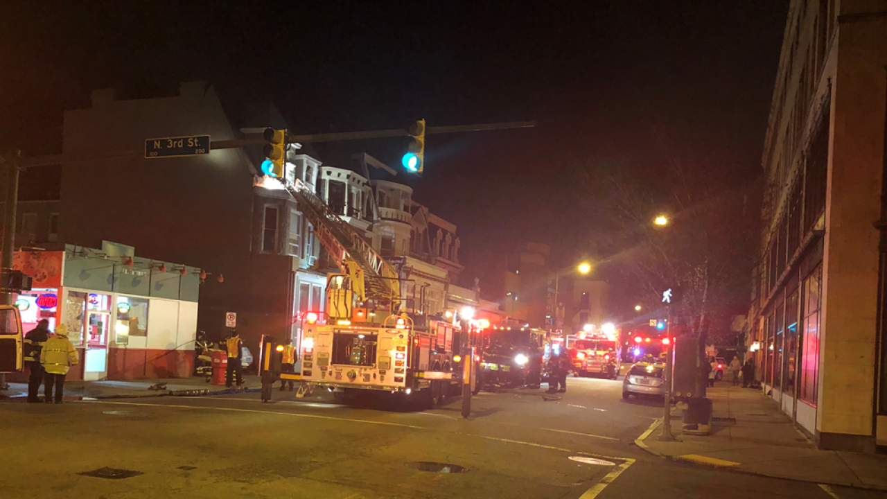 Officials investigating after Downtown Richmond fire