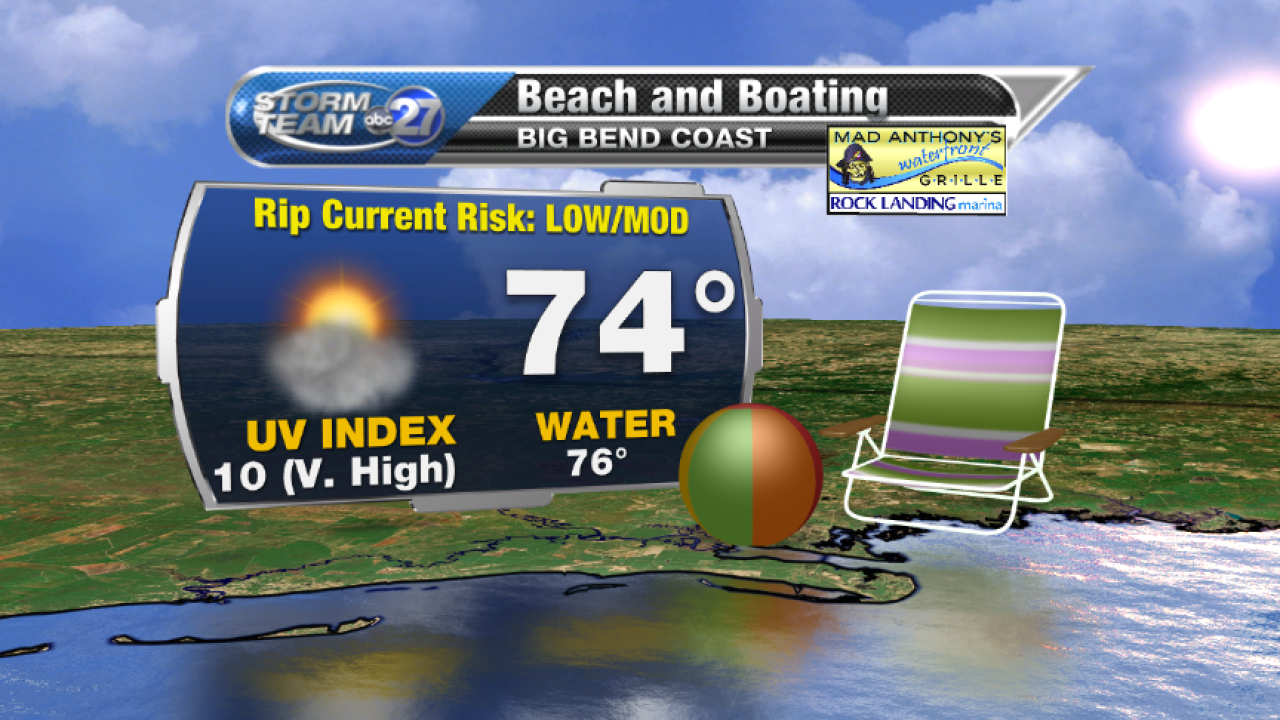Beach and Boating forecast B (04/24/2017)