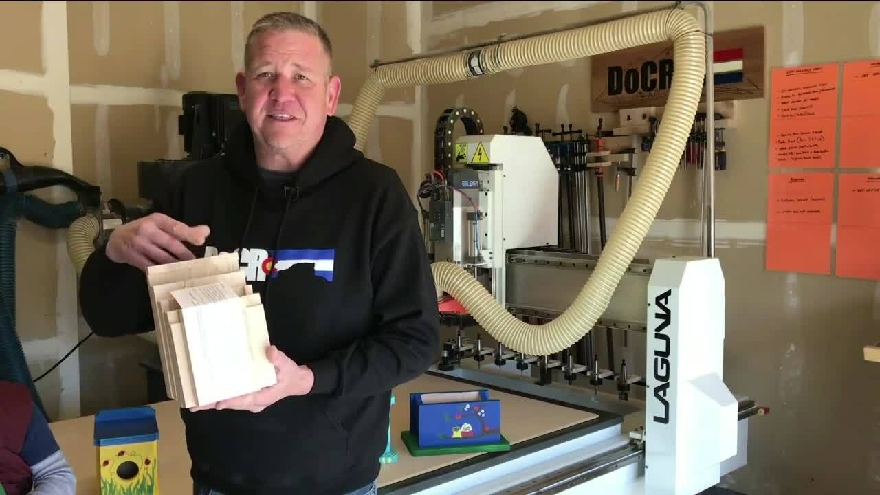 Jerry Powell with Castle Rock Woodworks