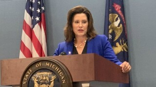 Governor Whitmer on budget veto: 'We'll see'