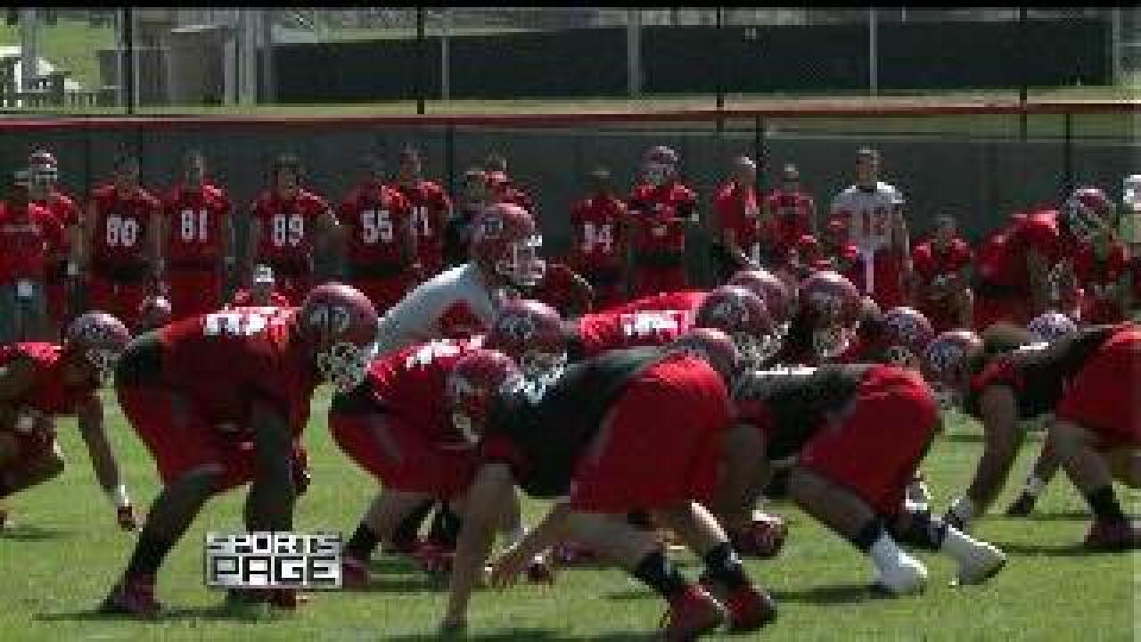 Utes start fall football camp