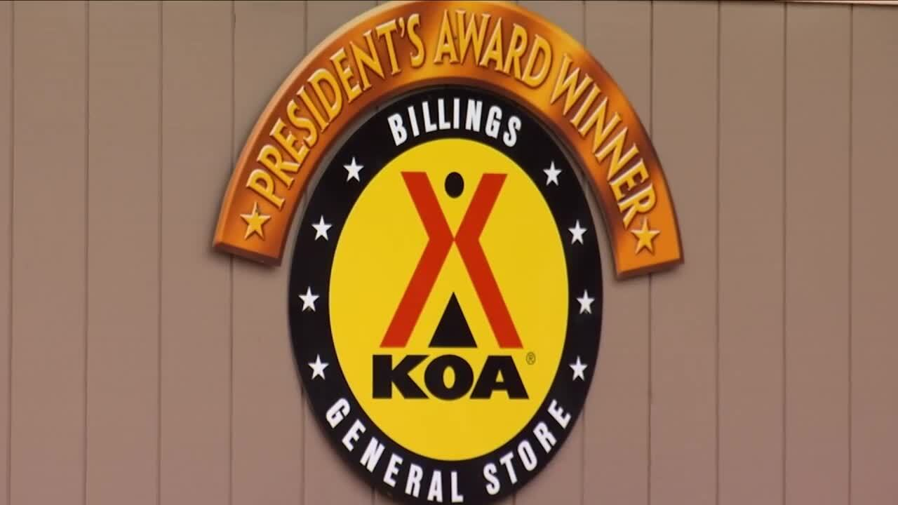 The store at KOA's Billings campground.