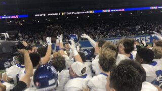 Grand Rapids Catholic Central dominates Country Day for division 4 state title