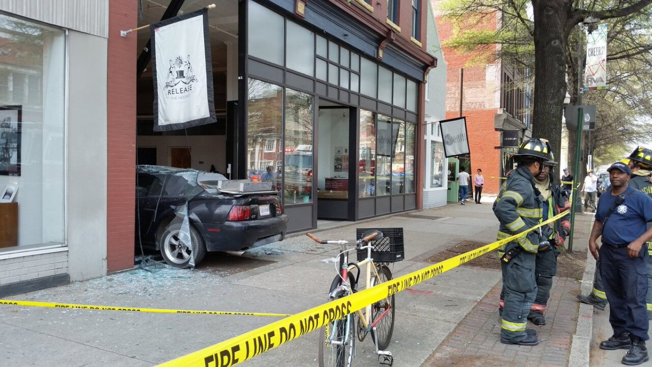 Driver charged after crash sends car into Broad Street business