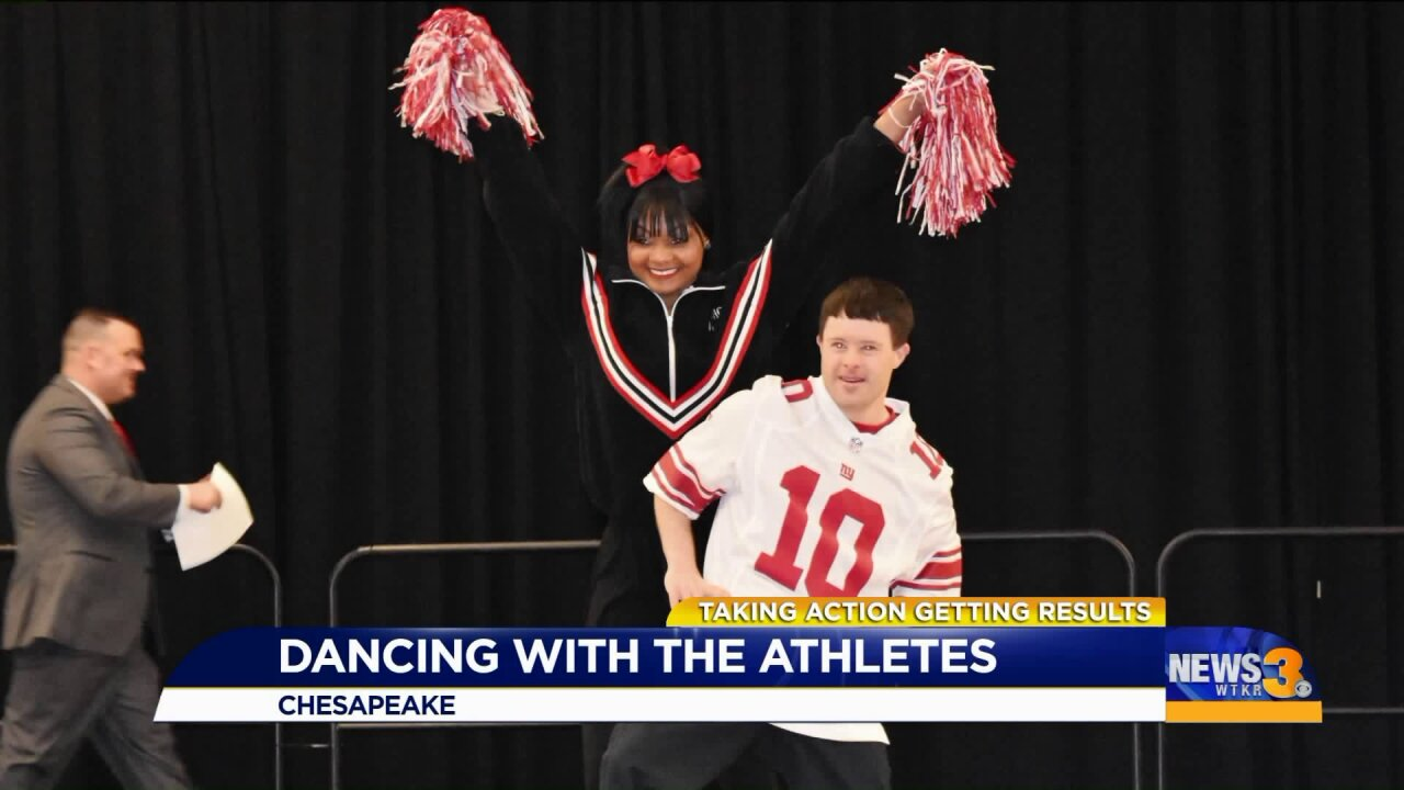 "Chesapeake Sheriff's Office continues ""Dancing with the Athletes"" to benefit Special Olympics Virginia"