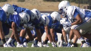 Air Force building off season opener