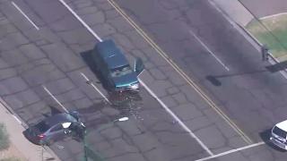 43rd Street and Broadway crash