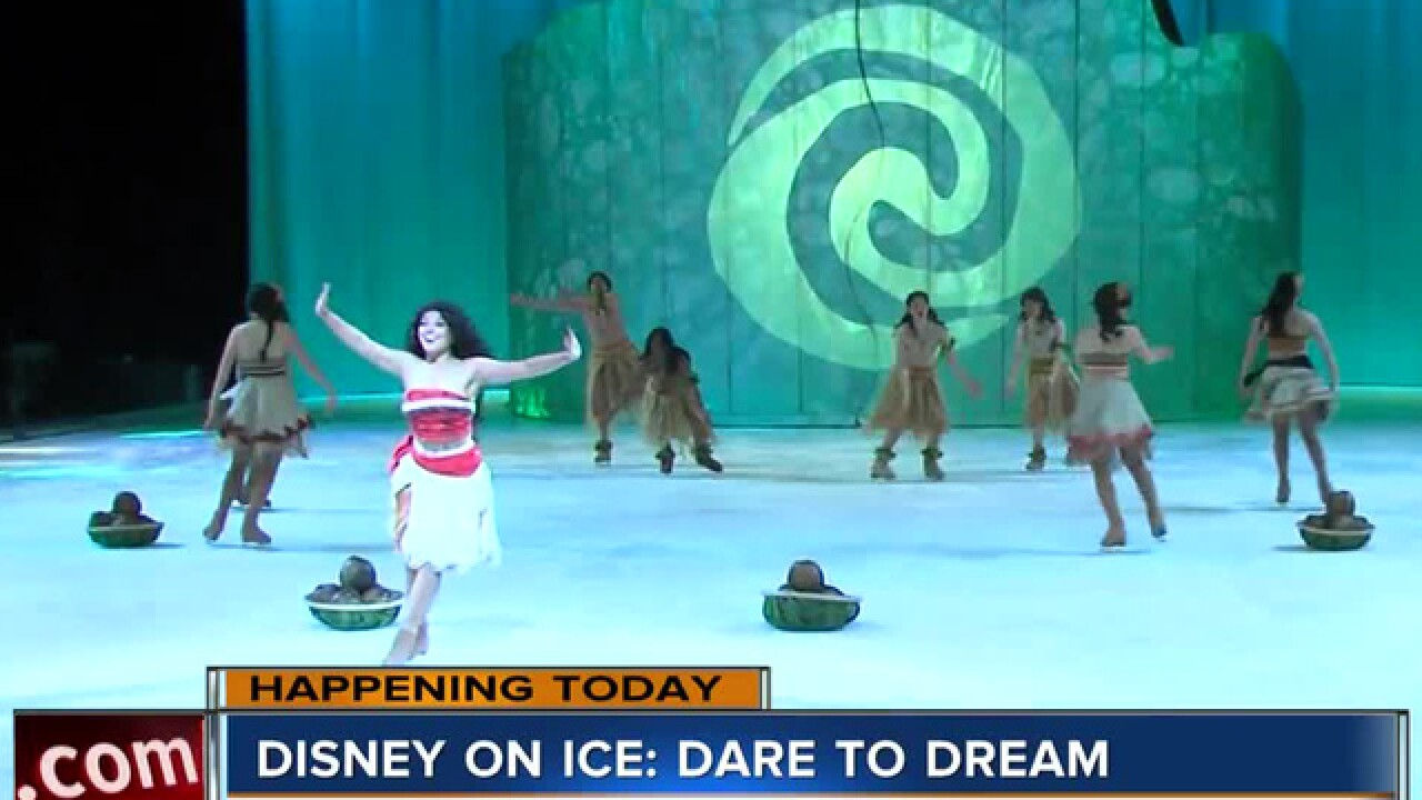 'Disney on Ice' skates into the Sprint Center