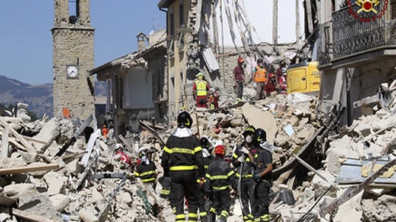 Italy earthquake: Strong aftershocks rattle devastated area