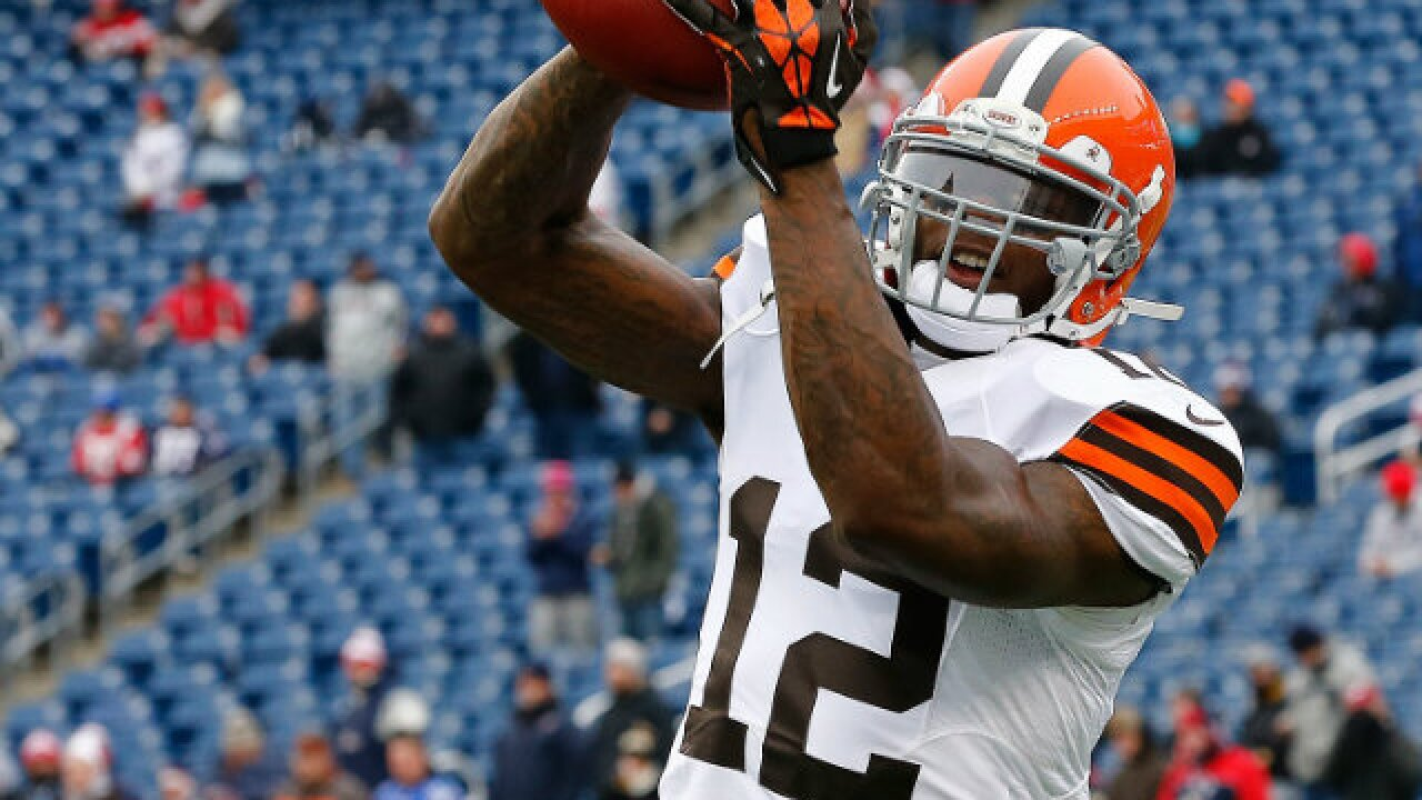 Browns have 'load of plays set up for Josh Gordon,' limit other WRs