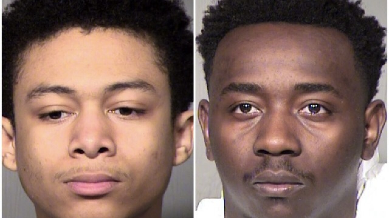 Men accused of attempting to rob woman in Goodyear after meeting on OfferUp